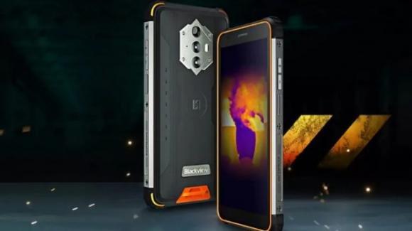 Blackview BV6600 Pro: ufficiale lo smartphone rugged low cost con termocamera