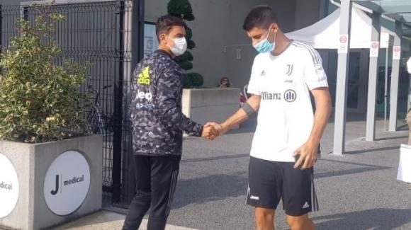 Juventus, giornata di esami al J-Medical per Alvaro Morata e Paulo Dybala