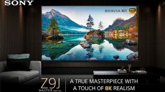 L'home cinema fa All-In con la smart TV Sony Bravia XR Master Series 85Z9J 8K
