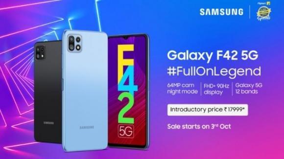 Galaxy F42 4G: Samsung porta fuori dalla Corea il suo Wide 5