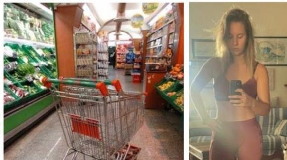 Grosseto, indossa abbigliamento da fitness: guardia le nega accesso al supermercato