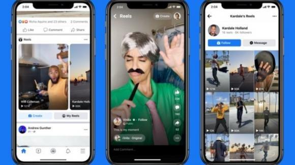 Facebook: partito ufficialmente il test per i suoi Reels