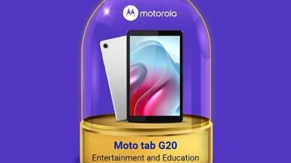Moto Tab G20: ufficiale il ritorno di Motorola nel settore dei tablet