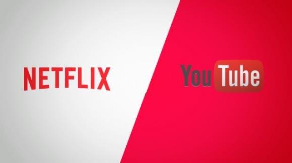 Netflix e YouTube: è scontro a suon di novità tra i giganti dello streaming