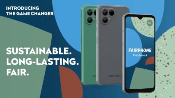 Fairphone 4 5G: ufficiale il nuovo smartphone etico modulare, ora più premium
