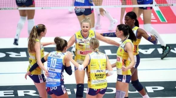 Volley femminile, Supercoppa italiana: Conegliano batte Novara 3-1