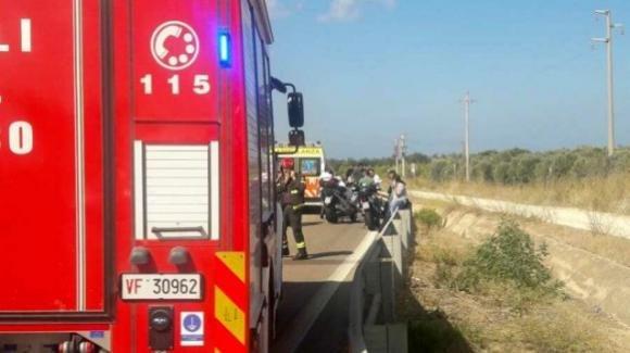 Brindisi, auto contromano sulla superstrada: travolta coppia di centauri
