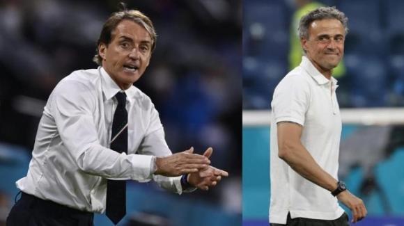 Italia-Spagna semifinale di Nations League stasera alle 20.45