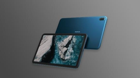 Nokia T20: ufficiale il tablet low cost con audio stereo OZO e connettività mobile