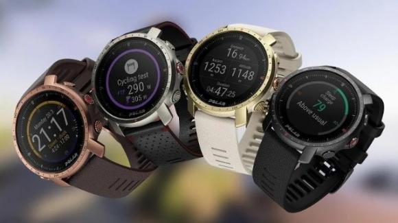 Polar presenta gli sportwatch Grit X Pro e Grit X Pro Titan