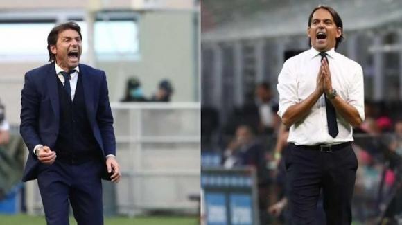 Inter, Antonio Conte e Simone Inzaghi, due allenatori a confronto