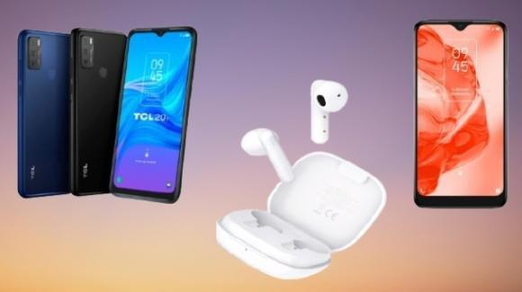 TCL: ufficiali gli smartphone TCL 20Y e TCL 205 e gli auricolari tws Moveaudio S108