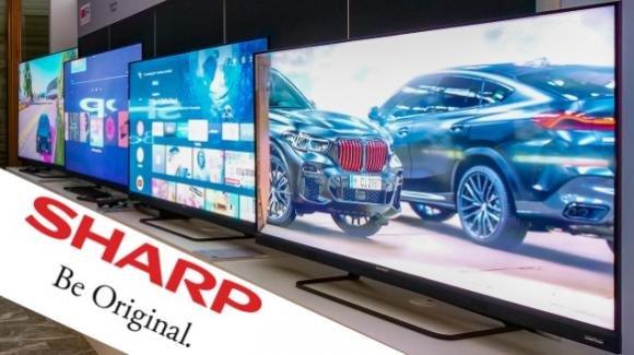 Sharp alla conquista dell'Italia con tanti prodotti, tra audio e smart tv (anche) Quantum Dot