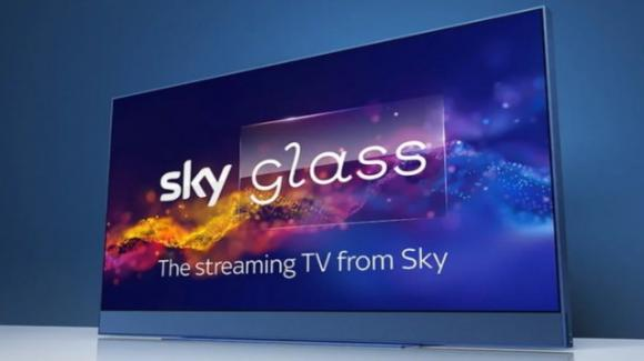 Ufficiali le smart TV Sky Glass con UHD, Dolby (Vision, Atmos) e opzionale webcam