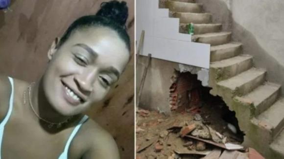 Brasile, murata nuda nel sottoscala di un cantiere: è stata strangolata con una maglia