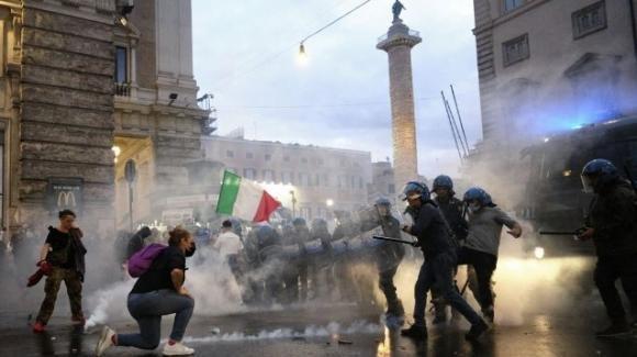 Roma, Forza Nuova minaccia ulteriori scontri nelle prossime settimane