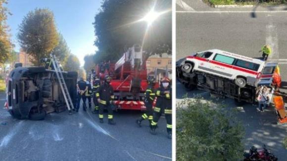 La Spezia, scontro tra ambulanze: sette feriti, grave un paziente a bordo