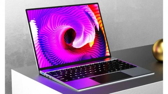 Da Kuu il notebook low cost Yobook con Intel Celeron N4120