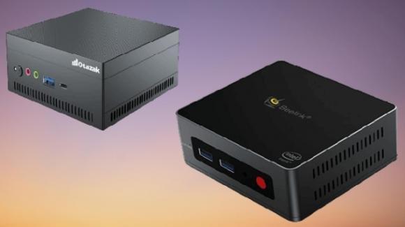 OzatakiPC 45 e Beelink GK Mini: in promo i due miniPC salvaspazio per la produttività base