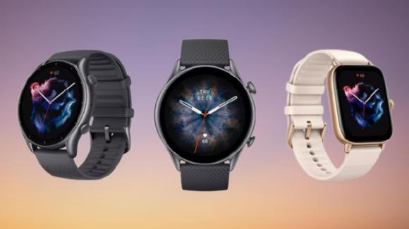 Ufficiali gli smartwatch premium Amazfit GTR 3 Pro, GTR 3, GTS 3