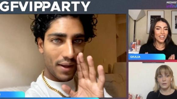 "GF Vip Party, Gaia Zorzi attacca Akash Kumar: ""Non sei famoso"""