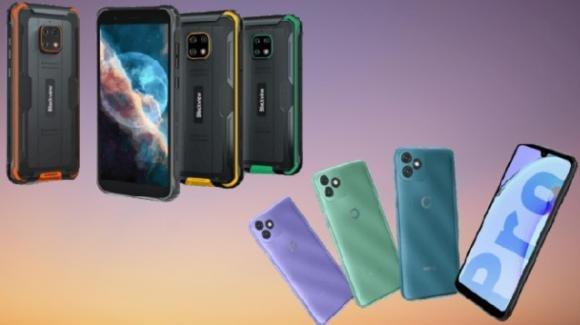 Blackview presenta il rugged phone BV4900s e il low cost 4G OSCAL C20 Pro