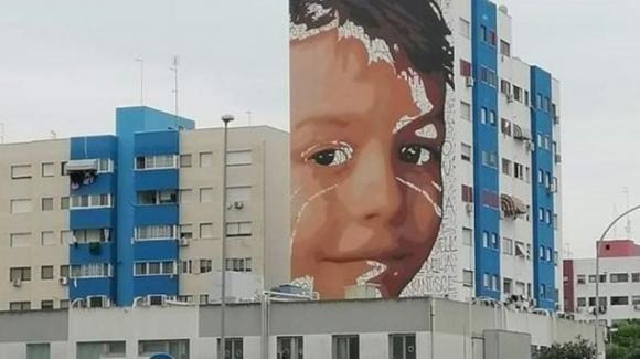 Taranto, un murales per le vittime di tumore