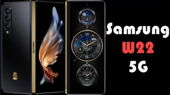 Samsung: ufficiale il foldable extra lusso Samsung W22 5G
