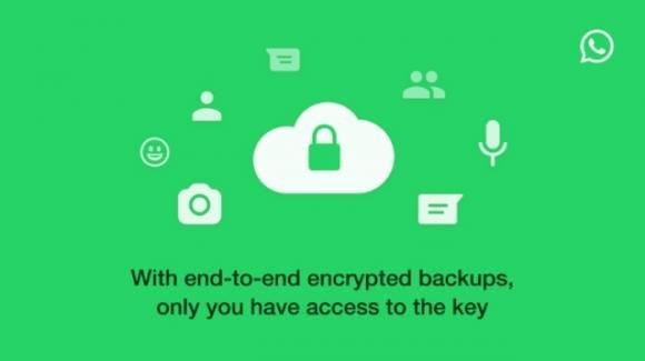 WhatsApp: bug corretto, crittografia dei backup rilasciata su Android e iOS