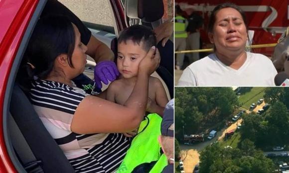 """USA: bambino di 3 anni disperso ritrovato dopo 4 giorni. """"È la prova che i miracoli esistono"""""""