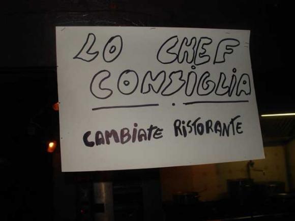 Il ristorante più pazzo del mondo è a Pavia!