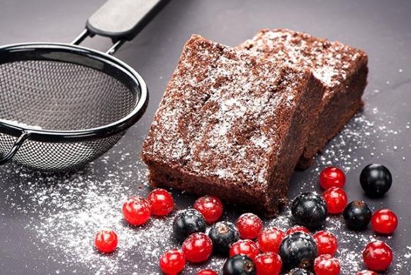 Brownies al cioccolato e philadelphia