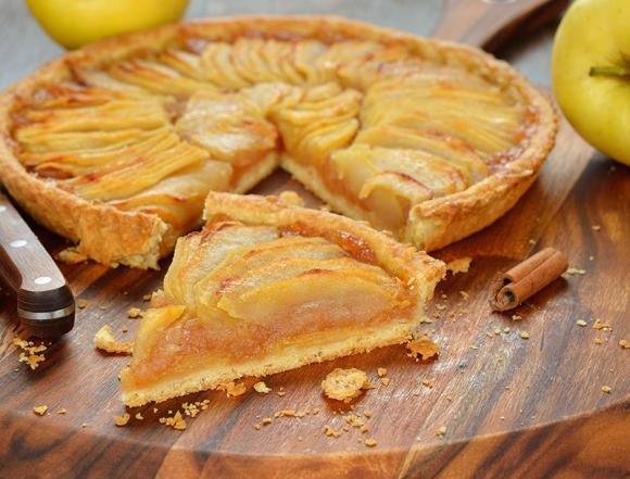 Torta di mele e muesli