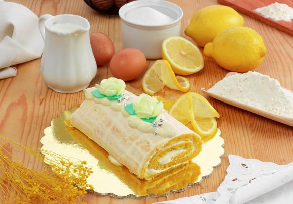 Rotolo al limone