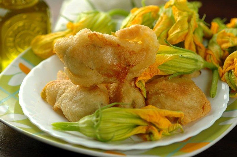 Fiori Zucca Fritti.Ricetta Fiori Di Zucca Fritti Fidelity Cucina