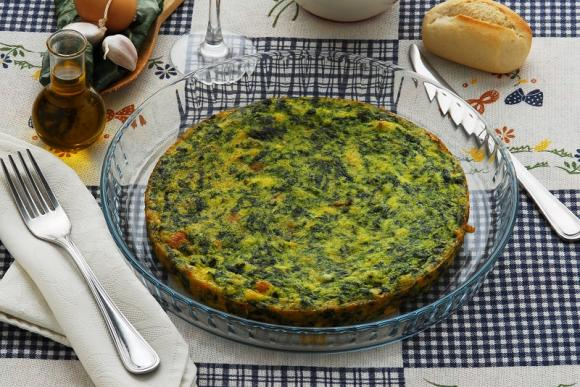 Frittata spinaci e ricotta