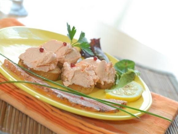 Mousse di salmone