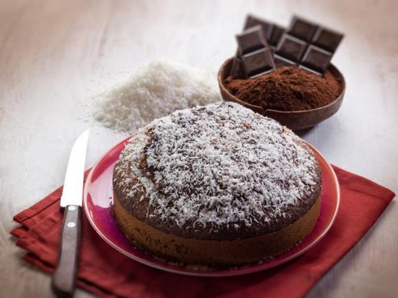 Torta cocco e nutella