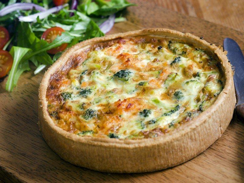 Ricetta Quiche Broccoli.Ricetta Torta Salata Ai Broccoli Fidelity Cucina
