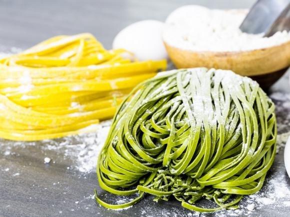 Pasta fresca verde all'uovo