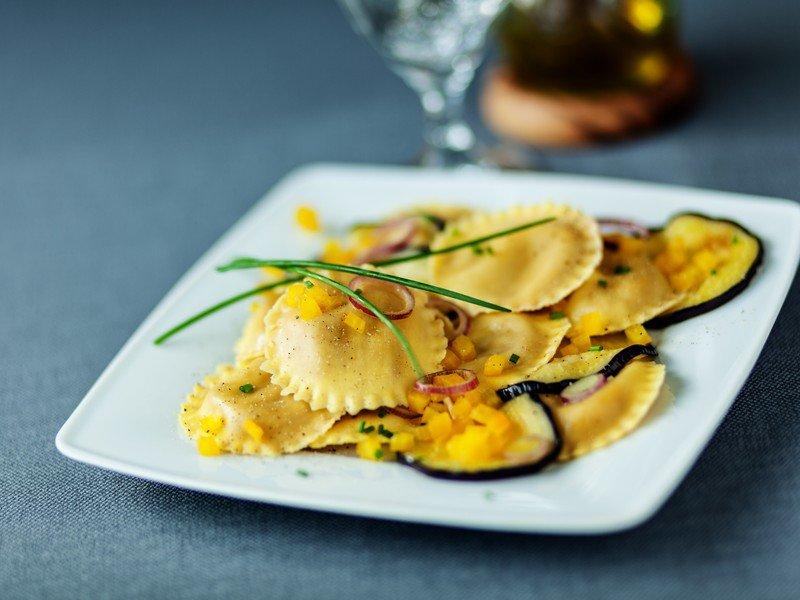 Ricetta Ravioli Melanzane.Ricetta Ravioli Alle Melanzane Fidelity Cucina