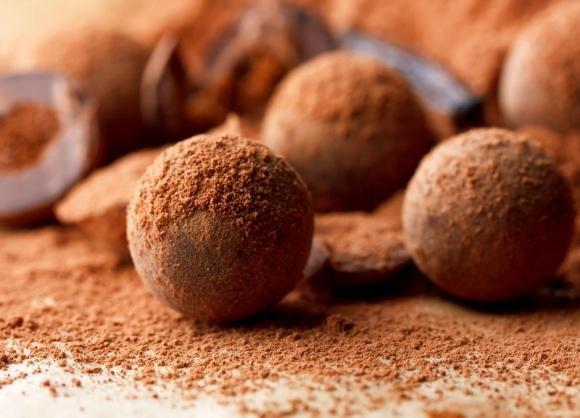 Tartufini caffè e cioccolato