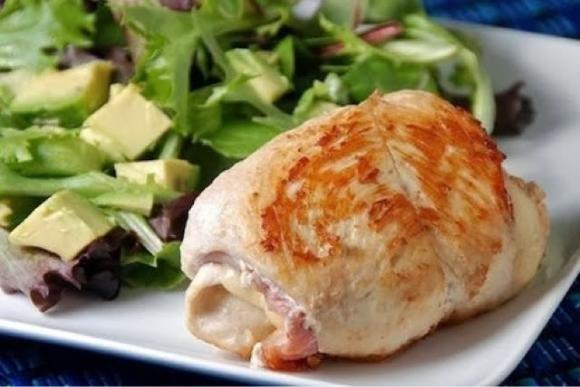 Involtini di pollo Bimby