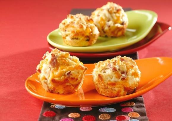 Muffin prosciutto e spinaci Bimby
