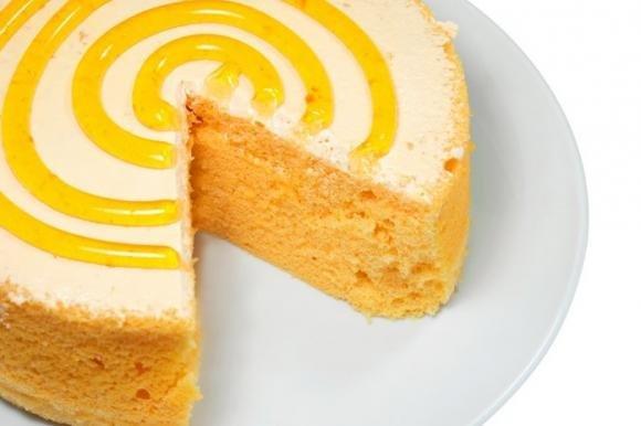 Torta girella all'arancia