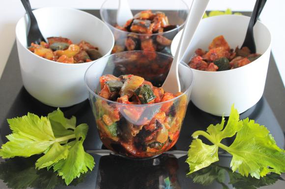 Caponatina di verdure alla siciliana