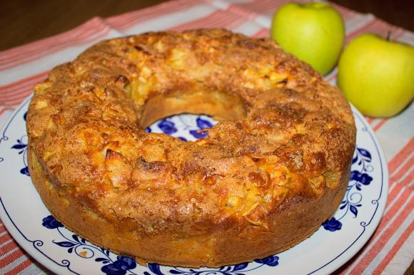 Torta di mele e mascarpone