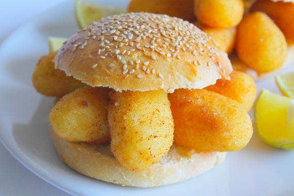 Panini con crocchè di patate