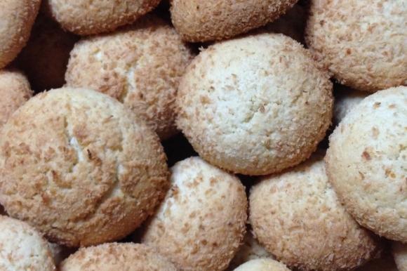 Biscotti morbidi limone e cocco