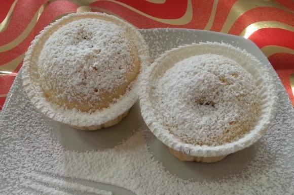 Cupcakes alla grappa con ciliegie
